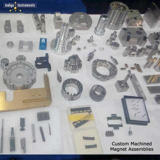 custom cnc machining neodymium magnet assemblies
