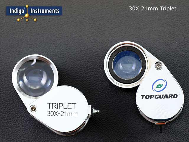 30X Loupe Triplet Hand Lens