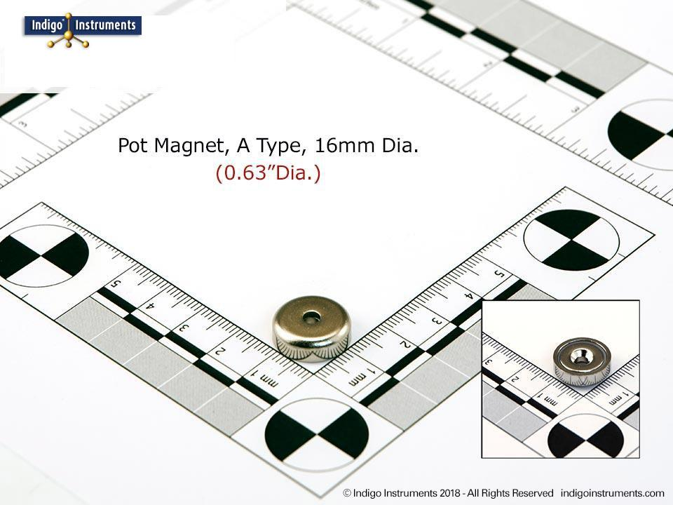 16mm Pot Magnet A Type