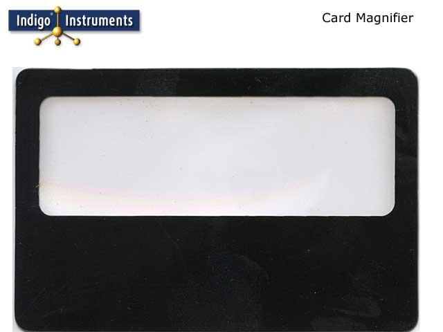 Black Credit Card Magnifier