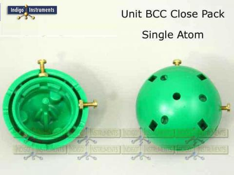 BCC Crystal Lattice Structure Model Assembly Step 1