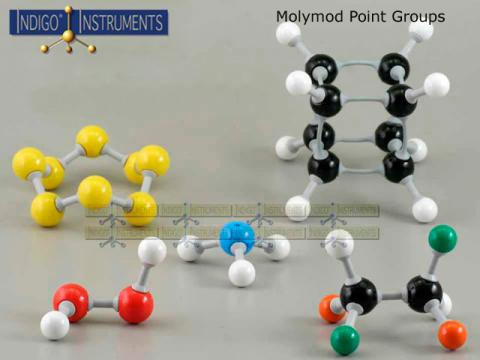 Point Group Set Indigo-Molymod