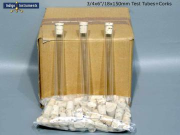 100 Corks/18x150mm Test Tubes