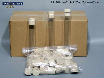 50 Corks/38x200mm Test Tubes