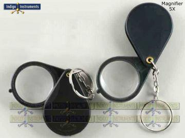 Keychain Geology Loupe 5X 30mm